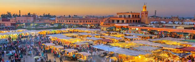Marrakech vanaf Eindhoven